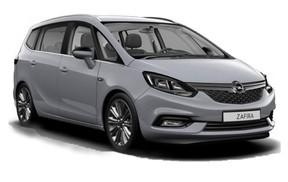 Grupo  FF: Opel Zafira 7 plazas automático o similar