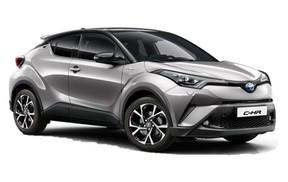 Grupo  TTH: Toyota CHR Hibrido Automatico